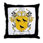 Gout Coat of Arms Throw Pillow