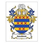 Goudsmit Coat of Arms Small Poster