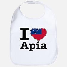 I love Apia Bib
