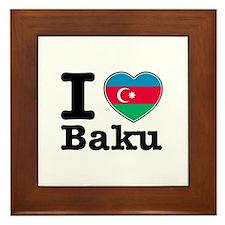 I love Baku Framed Tile