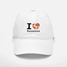 I love Barcelona Baseball Baseball Cap