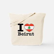 I love Beirut Tote Bag