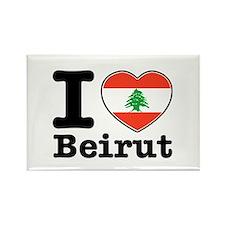 I love Beirut Rectangle Magnet