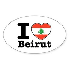 I love Beirut Decal