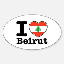 I love Beirut Decal