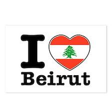 I love Beirut Postcards (Package of 8)