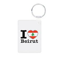 I love Beirut Keychains