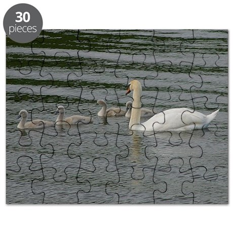 Mother Goose and Family Puzzle