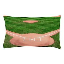 Baseball Diamond Pillow Case