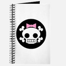 Skull Baby Girl Journal