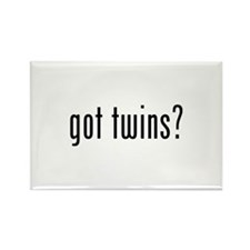 Got twins? Rectangle Magnet