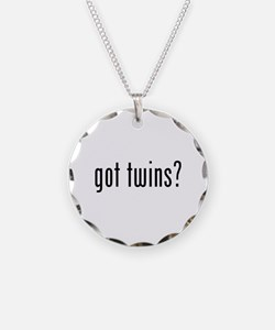 Got twins? Necklace