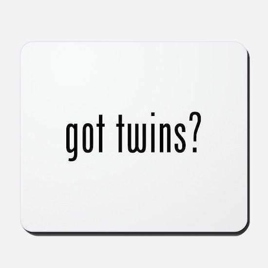 Got twins? Mousepad