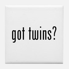 Got twins? Tile Coaster