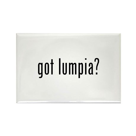 Got lumpia? Rectangle Magnet (100 pack)