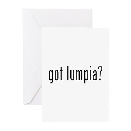 Got lumpia? Greeting Cards (Pk of 10)