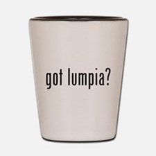 Got lumpia? Shot Glass