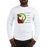 It's My Cat's World Long Sleeve T-Shirt