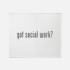 Got social work? Throw Blanket