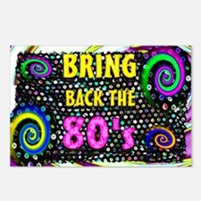 bring back the 80s Postcards (Package of 8)