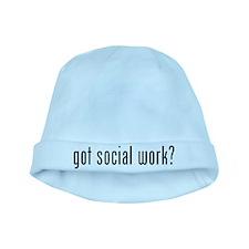 Got social work? baby hat