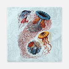 Ernst Haeckel Jellyfish Queen Duvet