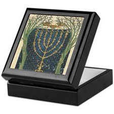 Cervera Menorah Keepsake Box