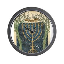 Cervera Menorah Wall Clock