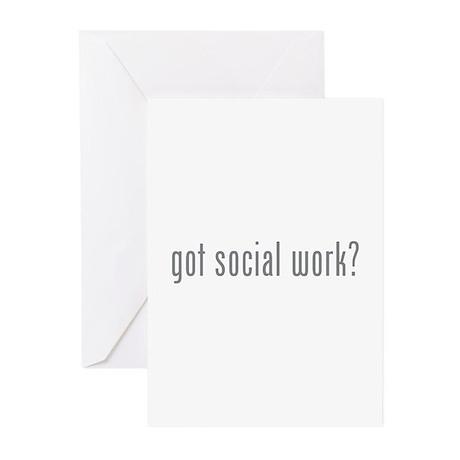 Got social work? Greeting Cards (Pk of 10)