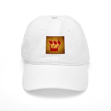Hebrew Shin Cap