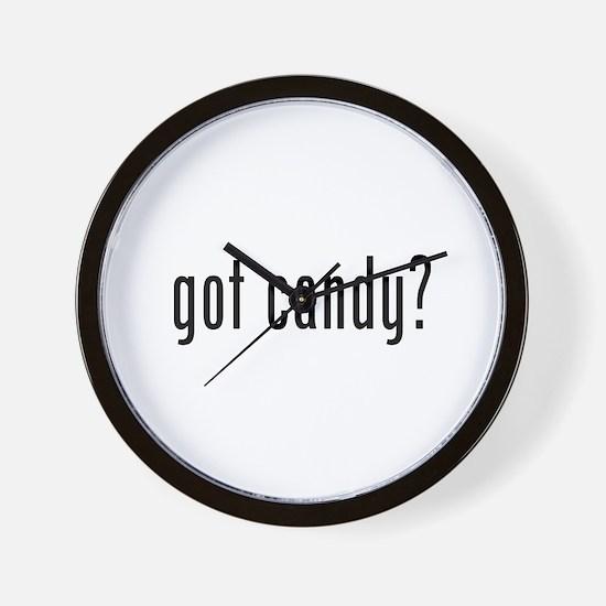 Got candy? Wall Clock