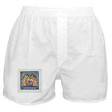 Hebrew Blue Shin Boxer Shorts