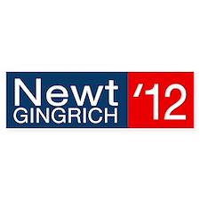 Newt Gingrich Car Sticker