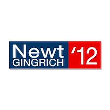Newt Gingrich Car Magnet 10 x 3