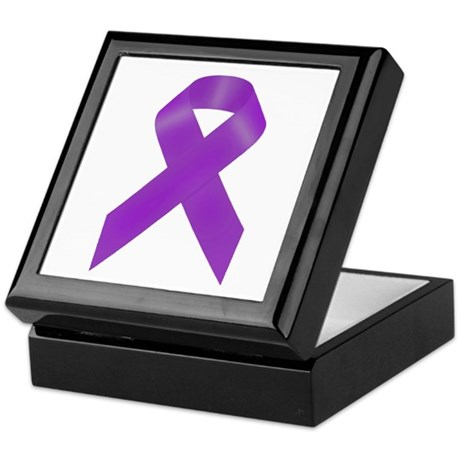 Awareness Ribbon Keepsake Box