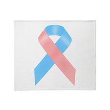Awareness Ribbon Throw Blanket