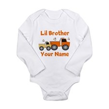 Little Brother Truck Baby Suit