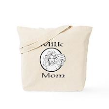 Milk Mom Tote Bag one sided print