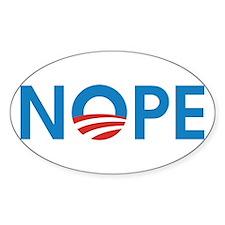 Cute Obama hope Decal