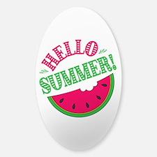 Watermelon Sticker (Oval)