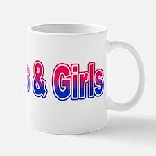 I Kiss Boys & Girls Mug