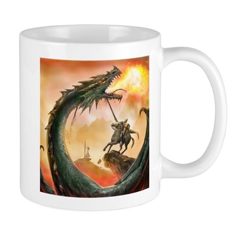 Saint George and the Dragon Mug