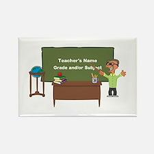 Cartoon Teacher Appreciation Male Magnets