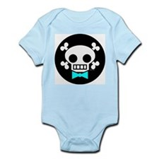 Skull Baby Boy Infant Creeper