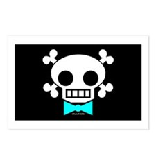 Skull Baby Boy Postcards (Package of 8)