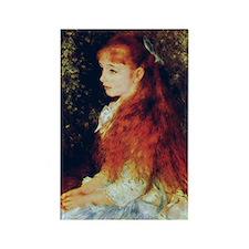 Irene by Renoir Rectangle Magnet