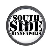 South Side Minneapolis Wall Clock
