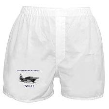 USS THEODORE ROOSEVELT Boxer Shorts