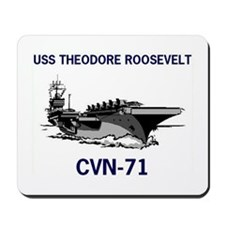 USS THEODORE ROOSEVELT Mousepad