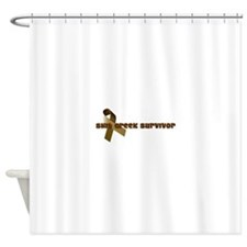 Cute Funny teen Shower Curtain